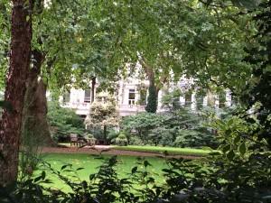 Un jardin privé - quartier d'Earls Court