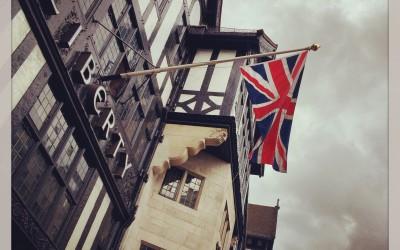 Liberty shop à Londres