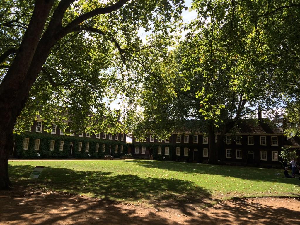 Jardins du Geffrye Museum - Londres