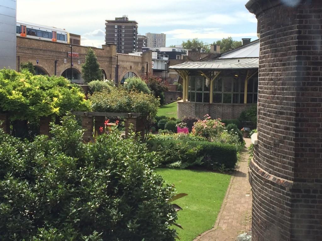 Les jardins du Geffrye Museum - Londres