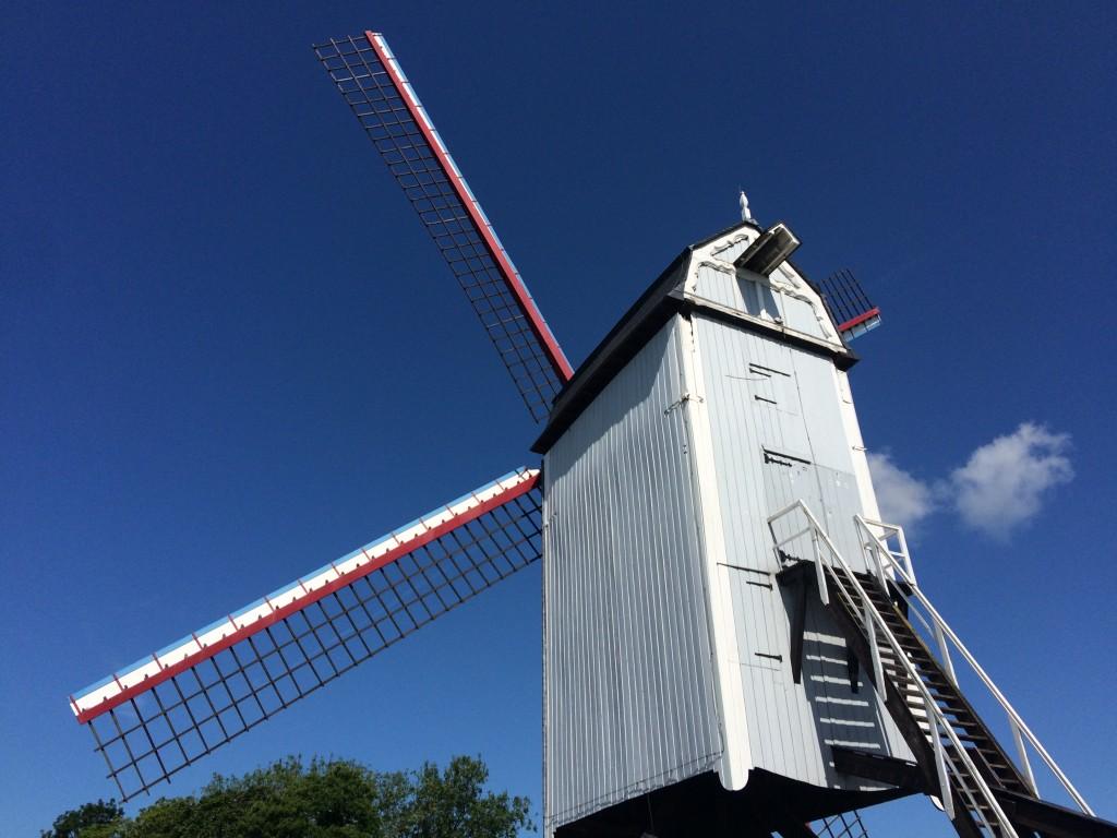 Moulin à vent à Bruges