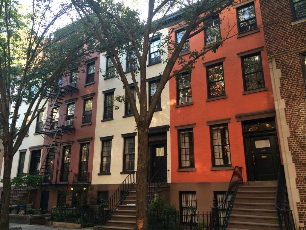 Quartier de Brooklyn Heights à New York