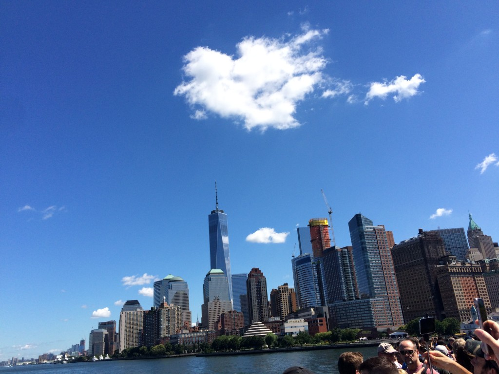 Ferry pour Ellis Island New York