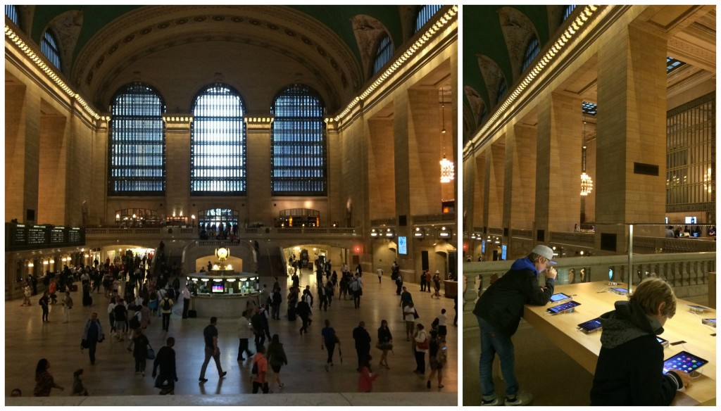 Grand central à New York
