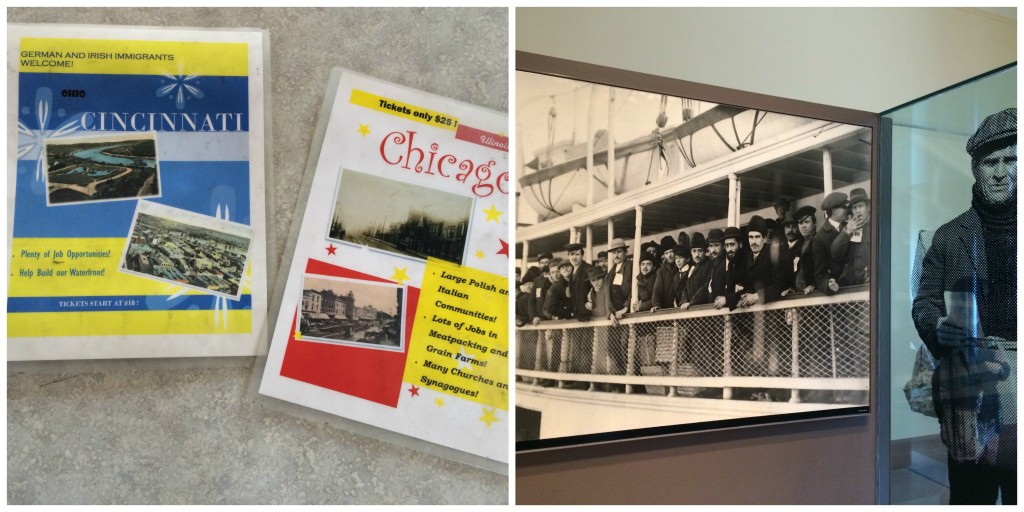 Musée de l'Immigration à Ellis Island New York