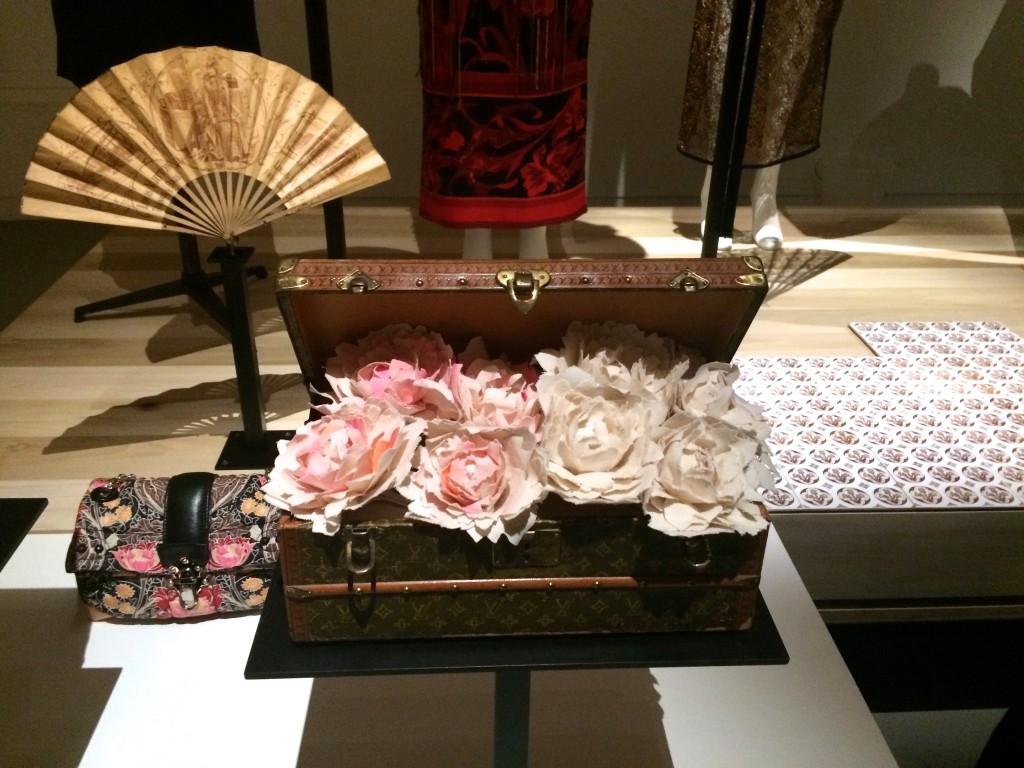 Fleurs à la Galerie Louis Vuitton à Asnières