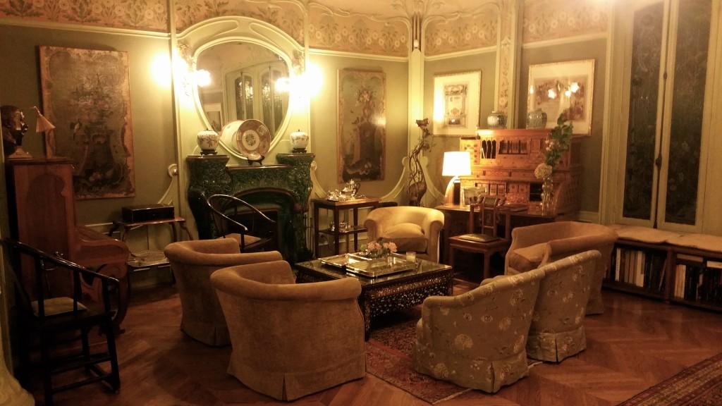Les salons de la Galerie Louis Vuitton à Asnières