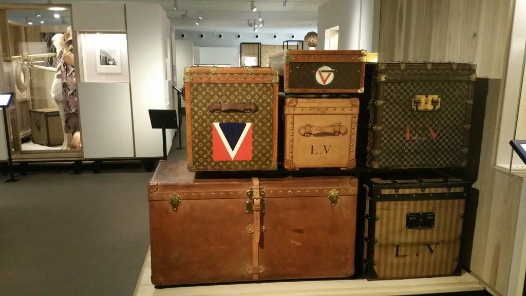 Mallesà la Galerie Louis Vuitton à Asnières