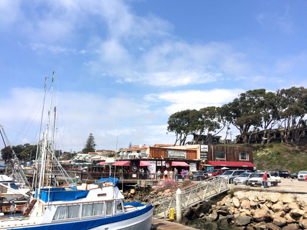 Petit port de Morro Bay sur la Route 1 en Californie
