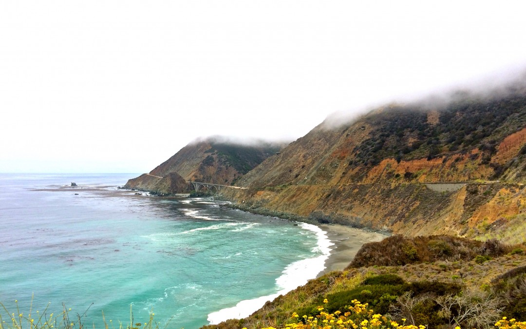 Route 1 - le Bixby Bridge à Big Sur en Californie