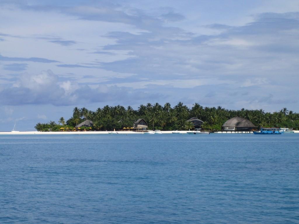 île de Velavaru aux Maldives