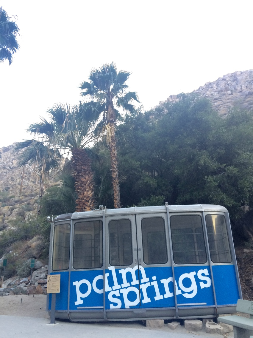 Aerial Tramway à Palm Springs en Californie