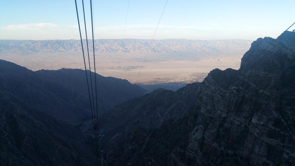 Dans l'Aerial Tramway à Palm Springs en Californie
