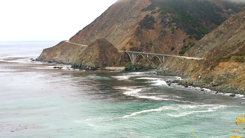 Bixby Bridge - Big Sur - route 1 en Californie