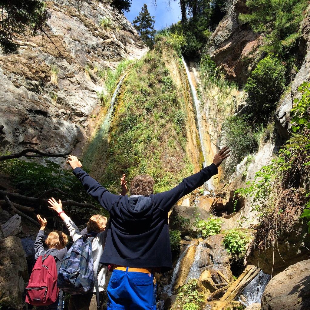 Falls Trail - Limekiln State Park à Big Sur en Californie