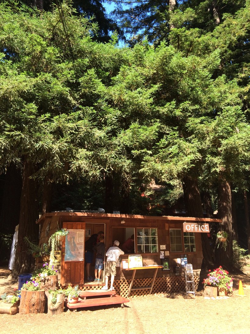 Riverside Campground - Office - Big Sur en Californie