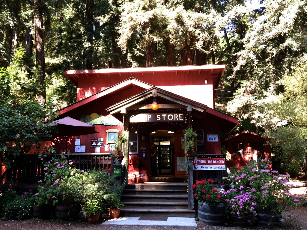 Riverside Campground - Store - Big Sur en Californie