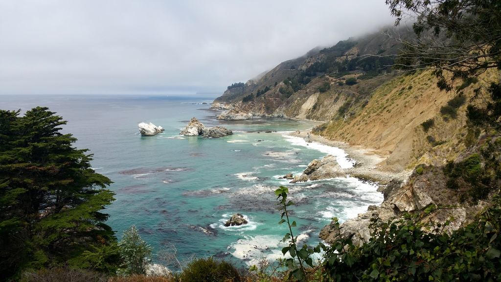 Sur la route 1 - Big Sur en Californie