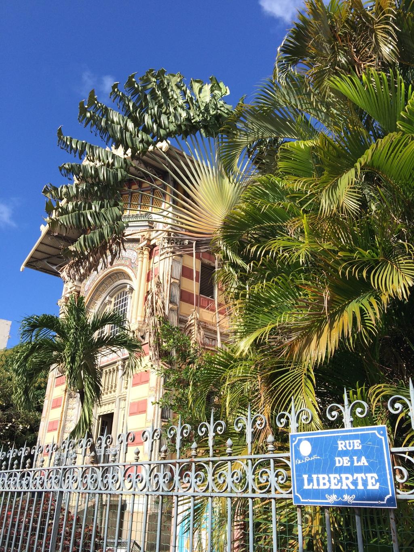 Bibliothèque Schoelcher à Fort de France en Martinique