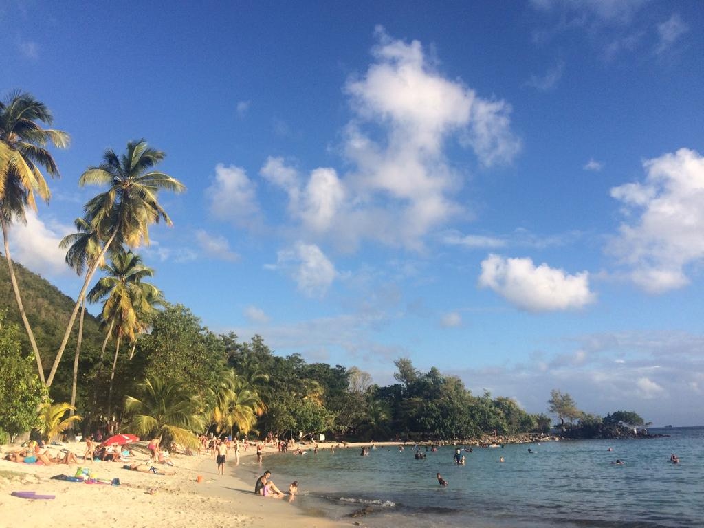 Plage de l'Anse Figuier en Martinique