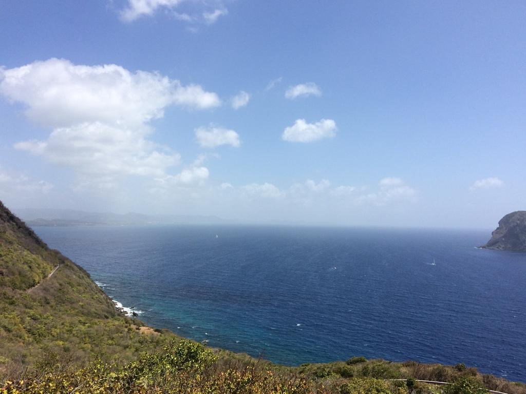 Vue du Diamant en Martinique