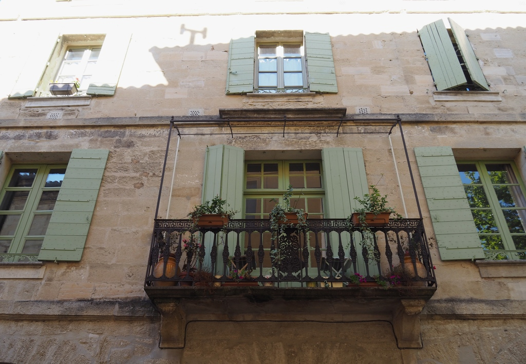 Les jolis balcons d'Uzès