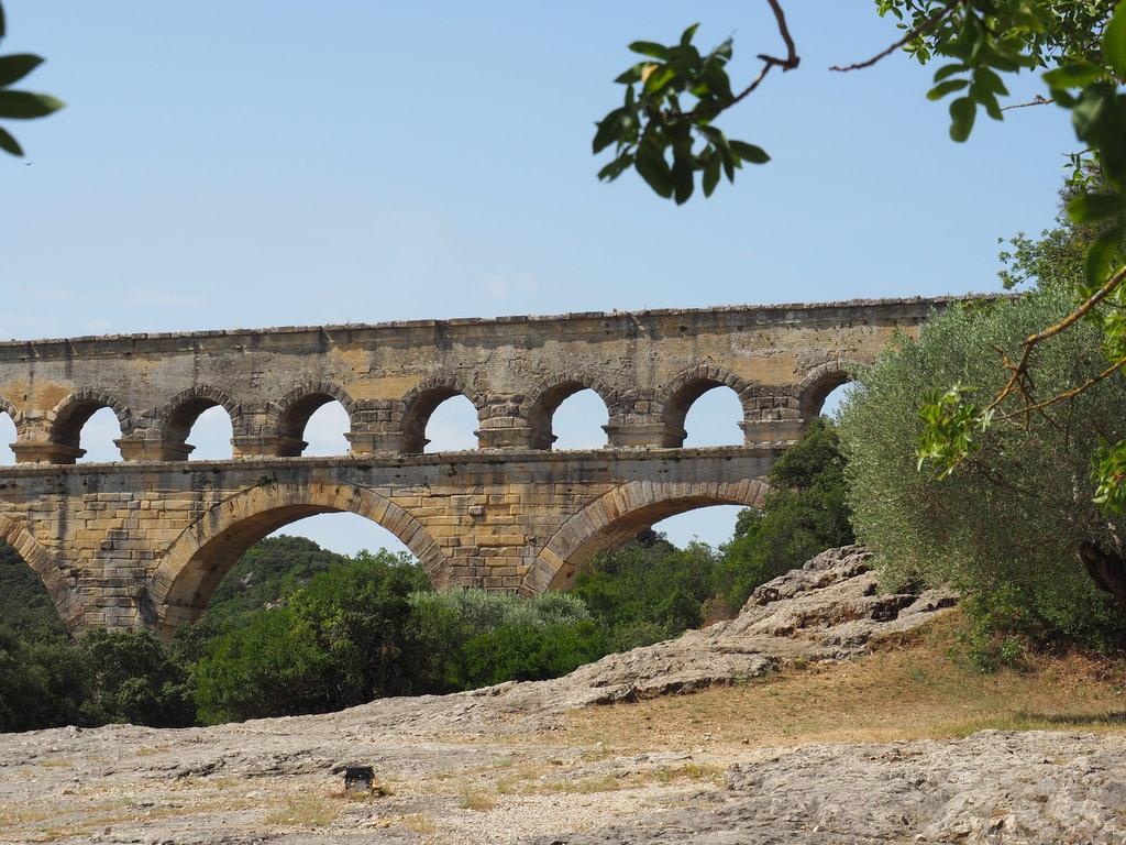 Le Pont du Gard au calme