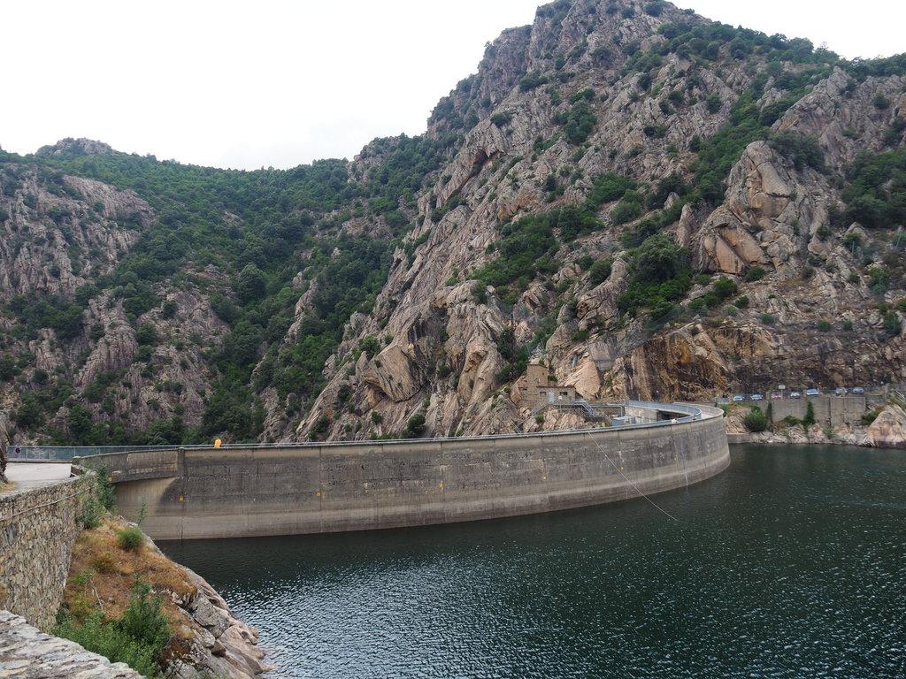 Barrage de Tolla en Corse