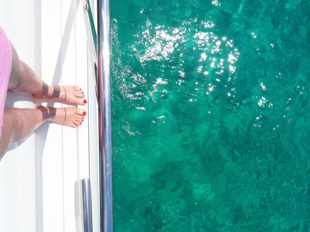 Sortie en bateau en Corse