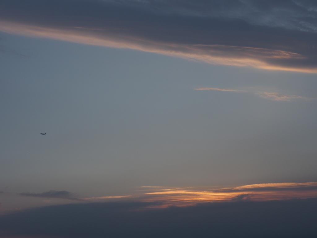 coucher de soleil à Porticcio