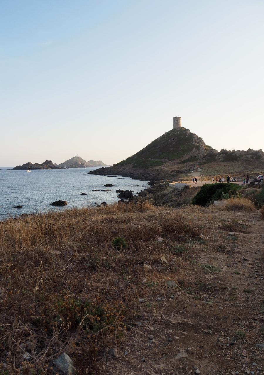 Sur la route des îles sanguinaires en Corse