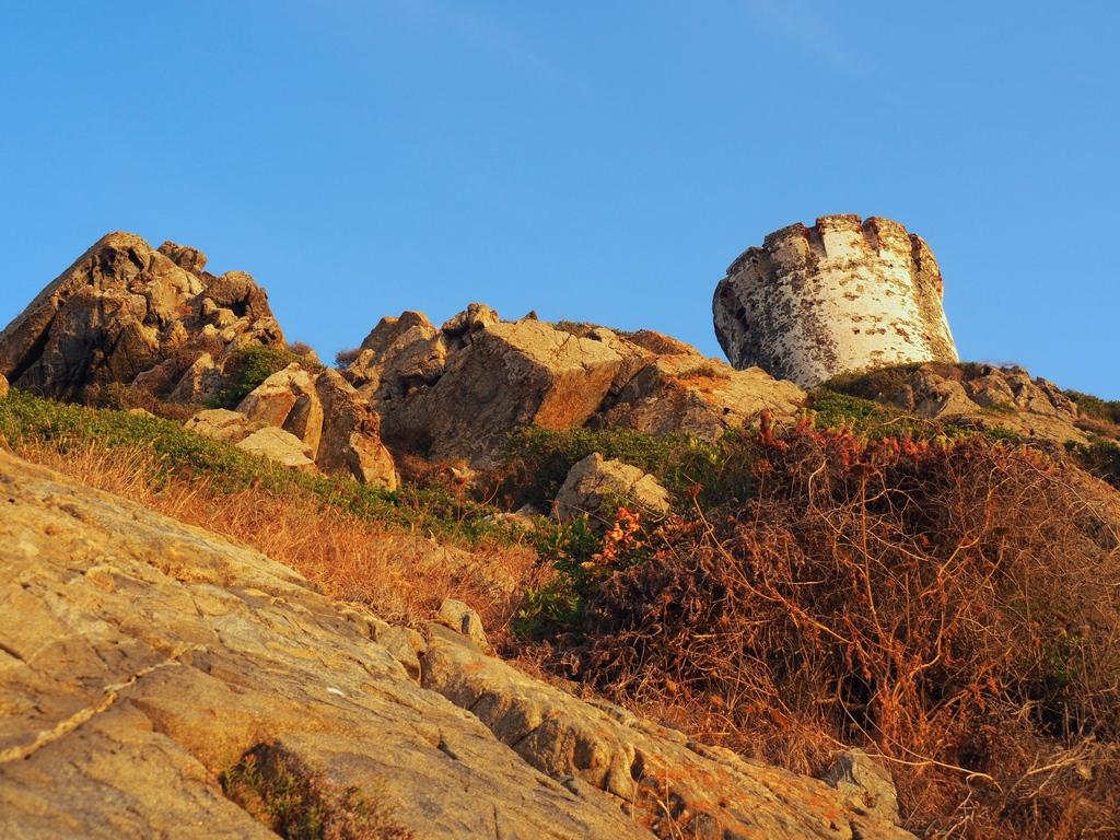Tour génoise aux îles sanguinaires en Corse