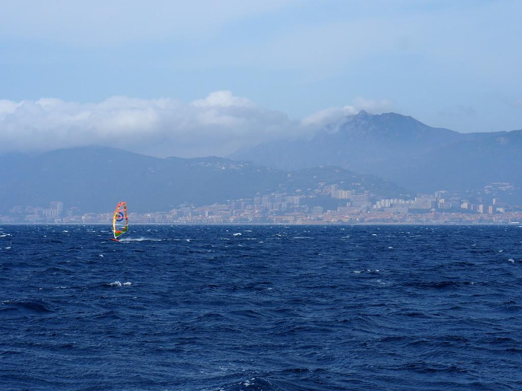 Baie d'Ajaccio en Corse