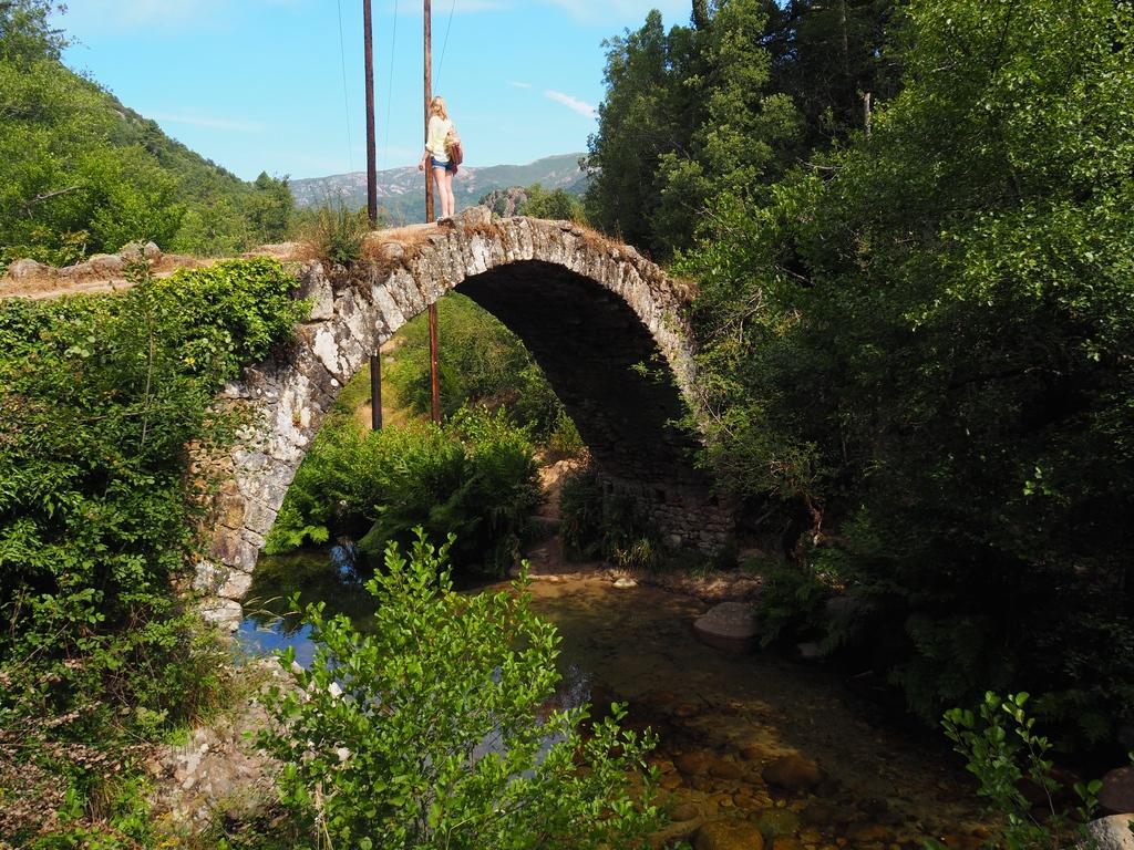 Pont génois de Zipitoli en Corse