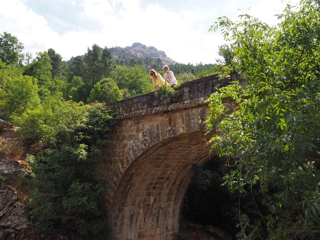Les Pont des Gorges du Prunelli en Corse