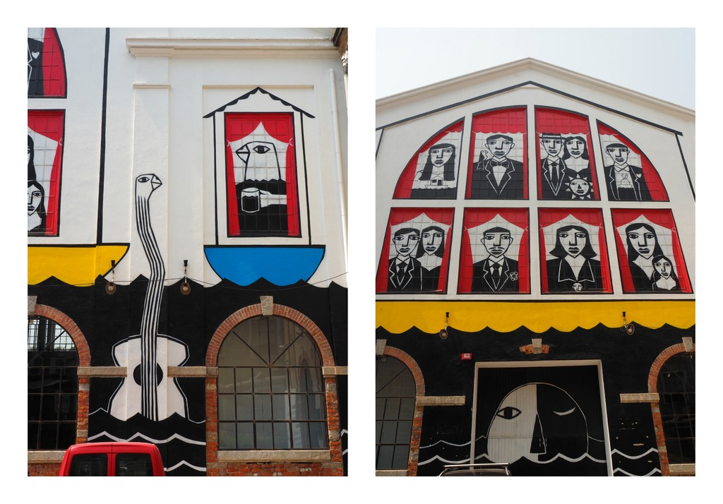Street art - LX factory à Lisbonne