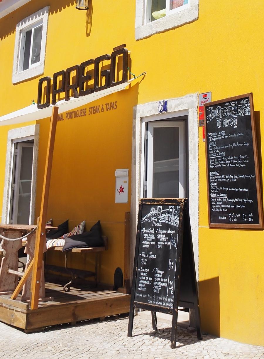 restaurant O prego à Lisbonne