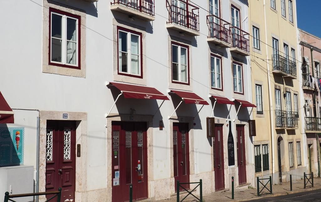 Notre appartement rue das Escolas Gerais à Lisbonne