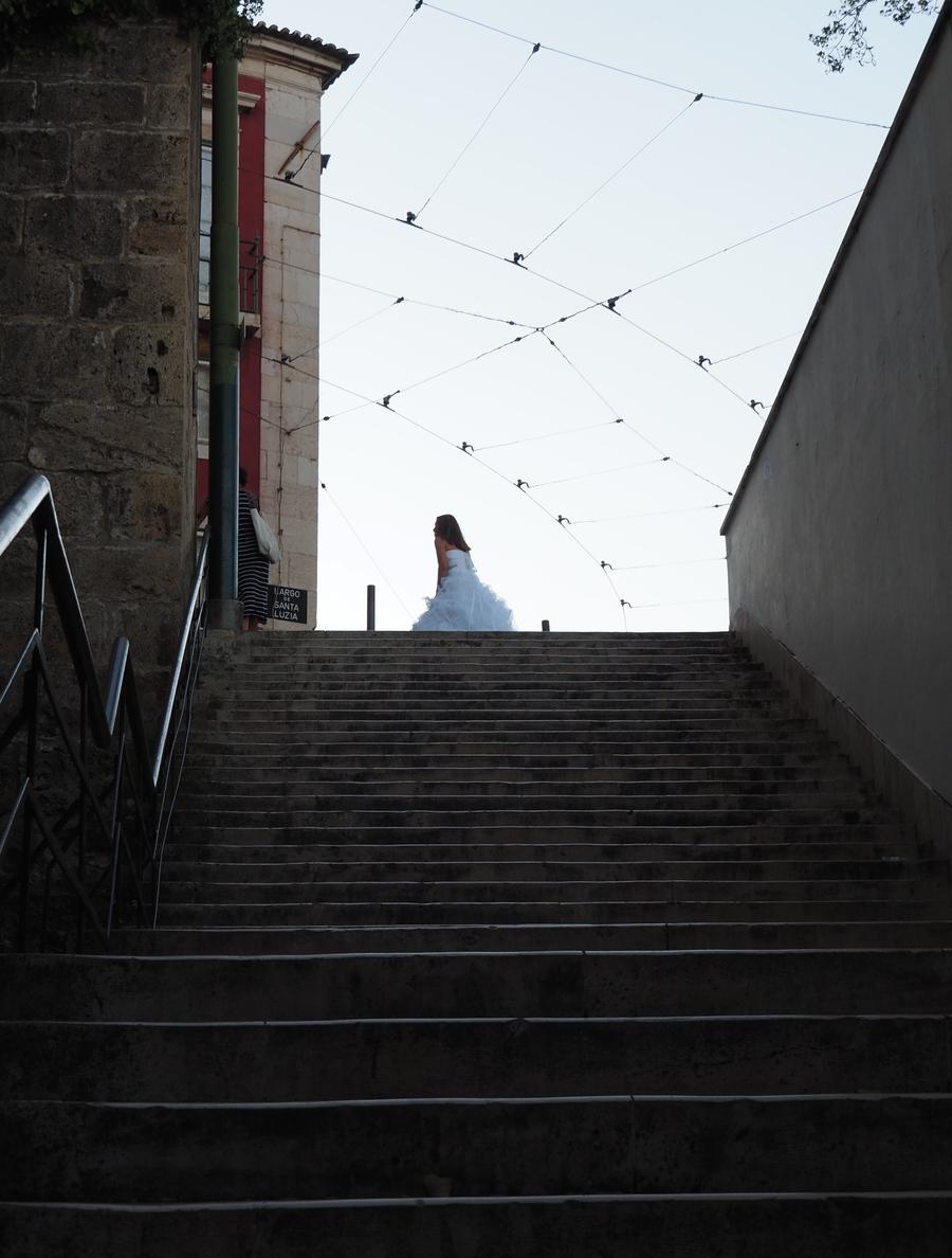 Mariée dans l'Alfama à Lisbonne !