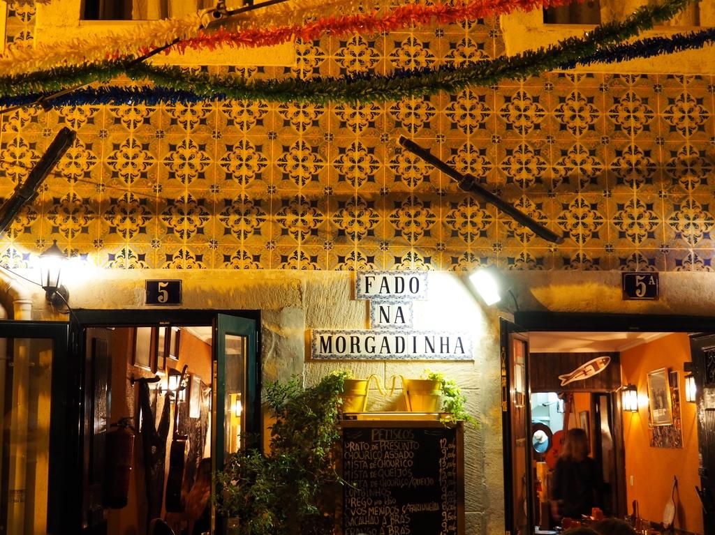 Restaurant fado na Morgadinha dans l'Alfama à Lisbonne