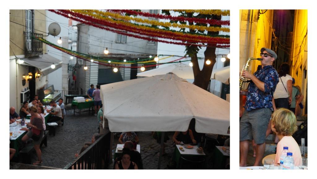 Restaurant Pateo 13 dans l'Alfama à Lisbonne
