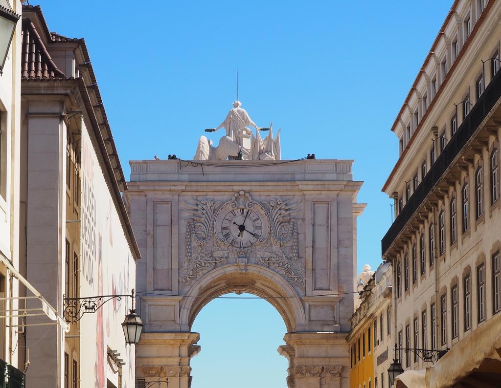 Arco da rue Augusta à Lisbonne