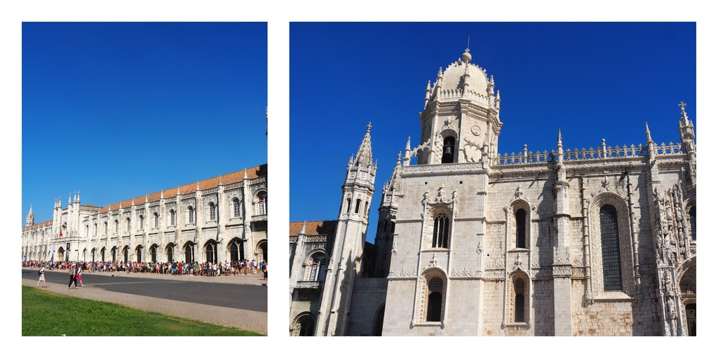 Mosteiro dos Jeronimos à Bélem - Lisbonne