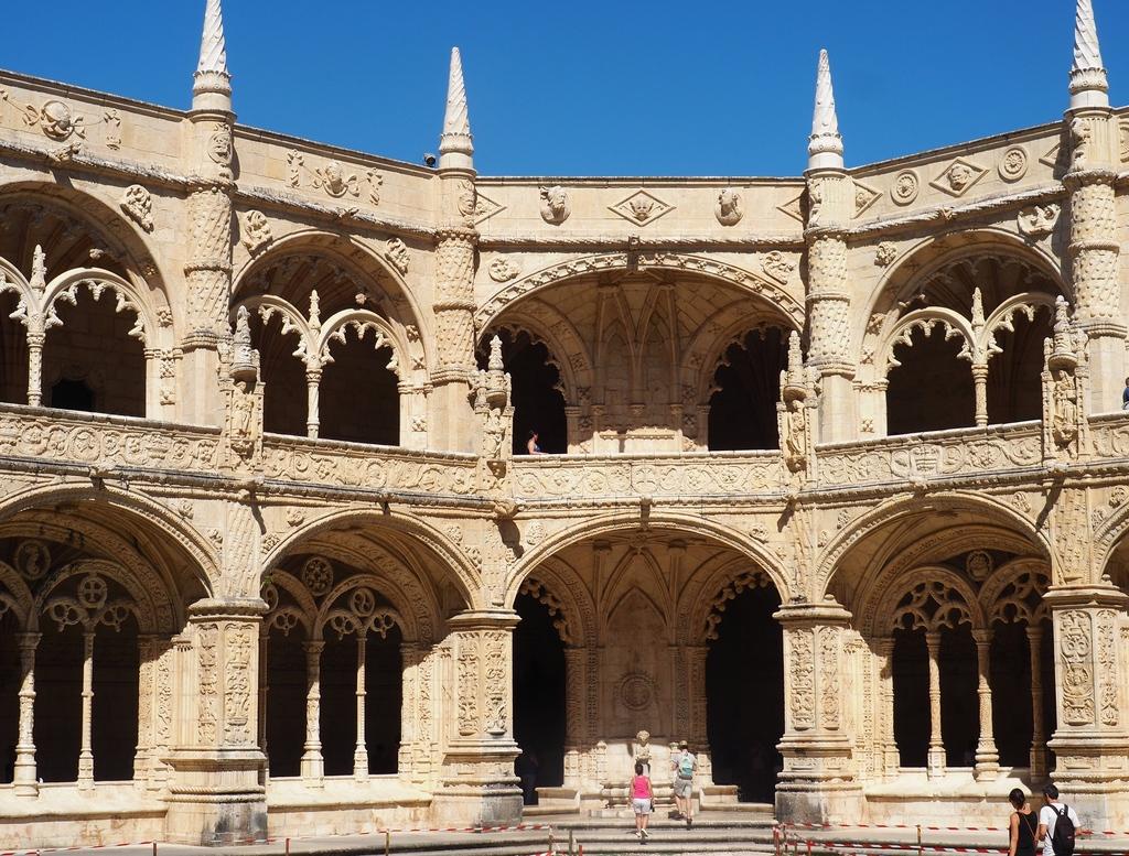 Intérieur du Mosteiro dos Jeronimos à Bélem - Lisbonne