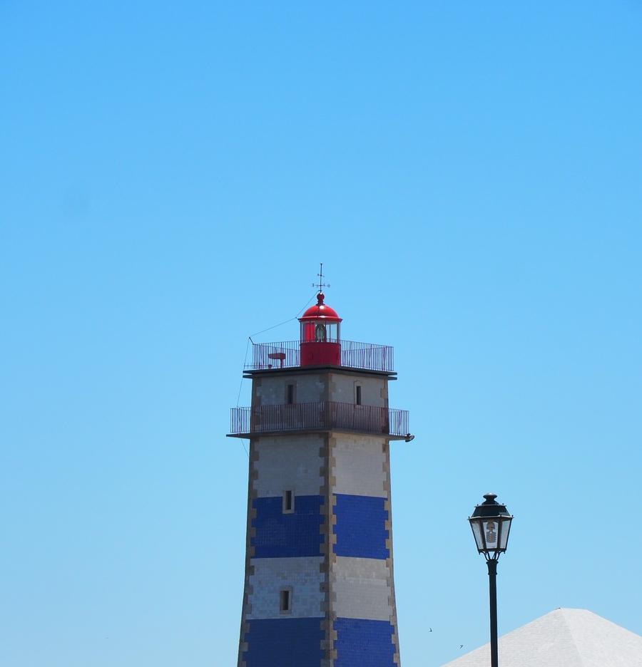 Le phare de Santa Marta à Cascais - Lisbonne