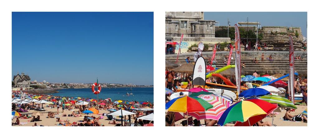 La plage de Cascais - Lisbonne