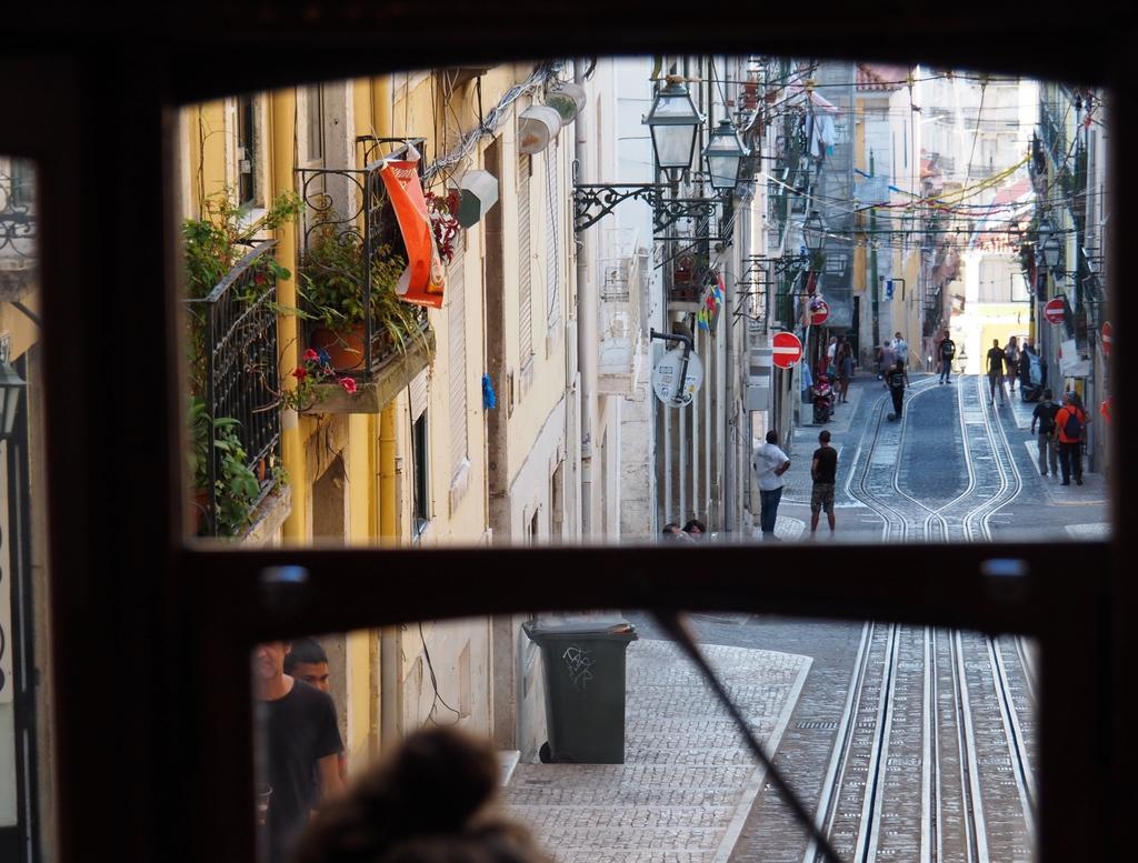 Elevador da Bica à Lisbonne