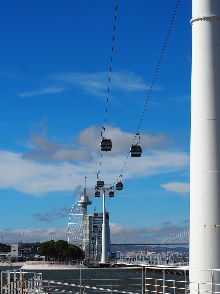 Télécabines du Parc des Nations à Lisbonne