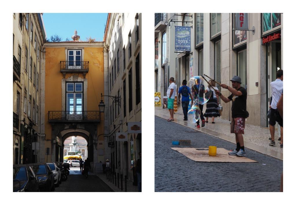 Balade dans le quartier de la Baixa à Lisbonne