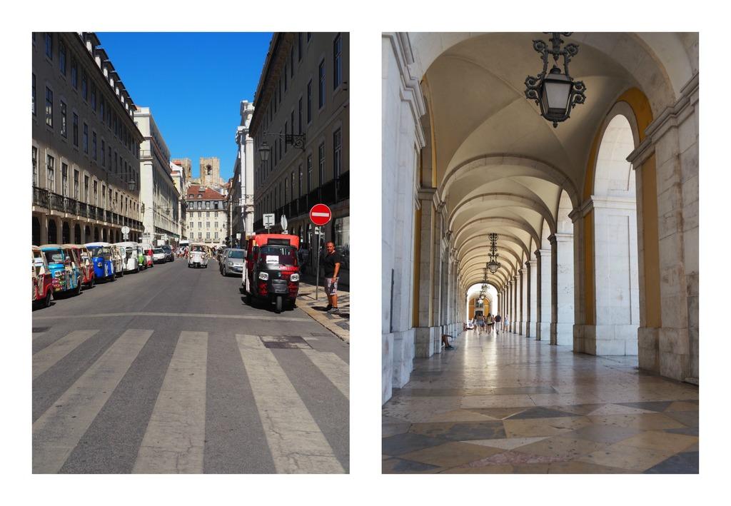 Quartier de la Baixa à Lisbonne